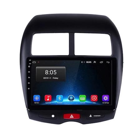 Navigatie NAVI-IT 1GB RAM + 16 GB ROM  Mitsubishi ASX ( 2010 - 2019 ) , Android , Display 9 inch, Internet ,Aplicatii , Waze , Wi Fi , Usb , Bluetooth , Mirrorlink 4