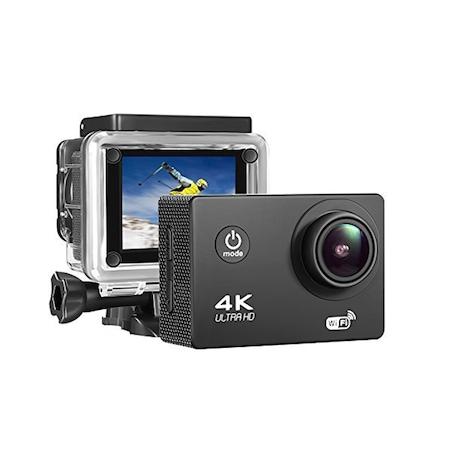 Camera Video Actiune Sport 4K, Ecran 2'' LCD, Waterproof, telecomanda pentru actiune de la distanta 2