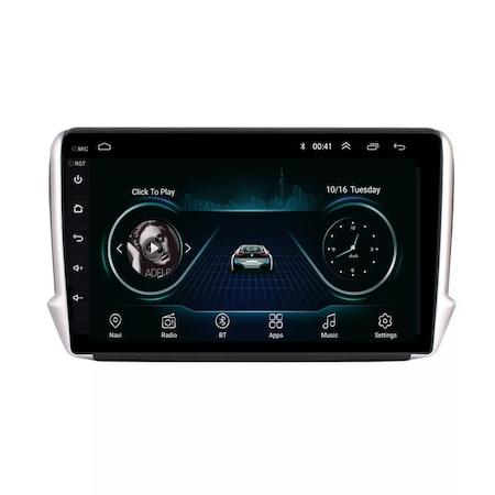 Navigatie NAVI-IT, 2GB RAM 32GB ROM, Peugeot 208 / 2008 ( 2012 - 2020 ) , Android , Display 9 inch, Internet , Aplicatii , Waze , Wi Fi , Usb , Bluetooth , Mirrorlink - Copie 3