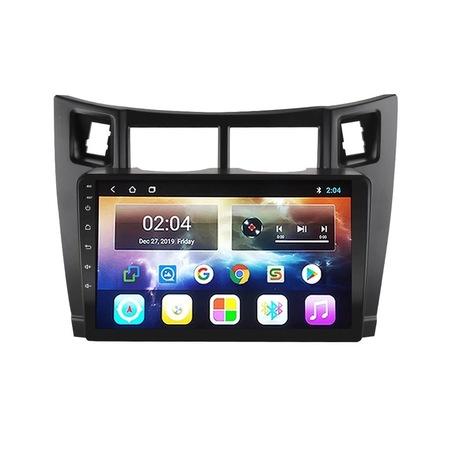 Navigatie NAVI-IT; 1GB RAM 16GB ROM, Toyota Yaris ( 2005 - 2012 ) ,Carplay , Android , Aplicatii , Usb , Wi Fi , Bluetooth [2]