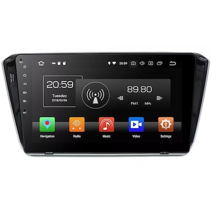 "Navigatie NAVI-IT 1GB RAM + 16GB ROM , Gps Skoda Superb 3 ( 2015 - 2019 ) , Android , Display 10.1 "" , Internet , Aplicatii , Waze , Wi Fi , Usb , Bluetooth , Mirrorlink 3"