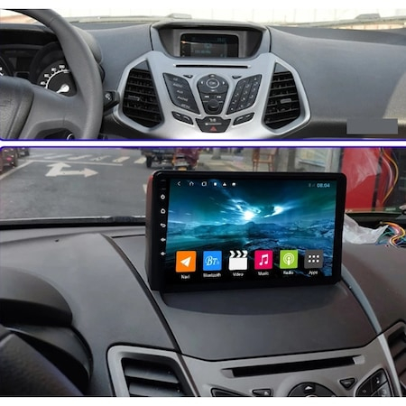 Navigatie NAVI-IT, 4GB RAM 64GB ROM,4G, IPS, DSP, Ford Ecosport ( 2013 - 2017 ) , Android , Display 9 inch, Internet, Aplicatii , Waze , Wi Fi , Usb , Bluetooth , Mirrorlink - Copie - Copie 5