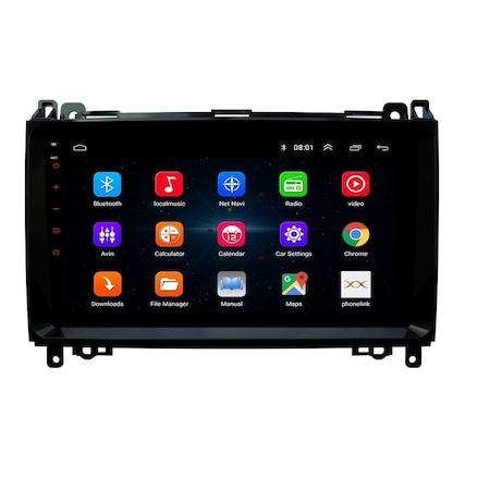 Navigatie NAVI-IT 1 GB RAM 16 GB ROM Android Mercedes Vito Sprinter Viano B200 A B Class VW Crafter , Display 9 inch , Internet ,Aplicatii , Waze , Wi Fi , Usb , Bluetooth , Mirrorlink 3