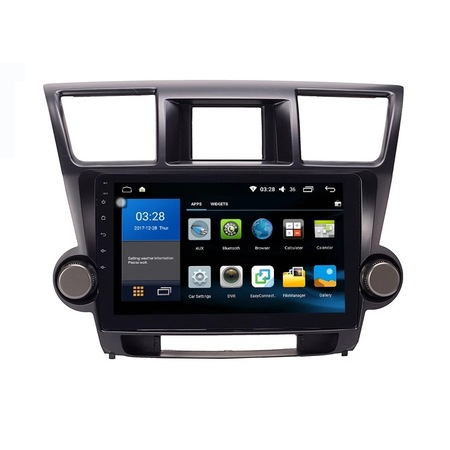 Navigatie NAVI-IT, 1GB RAM 16GB ROM, Android Toyota Highlander ( 2009 - 2014 ) , Display 10 inch, Internet ,Aplicatii , Waze , Wi Fi , Usb , Bluetooth , Mirrorlink 2