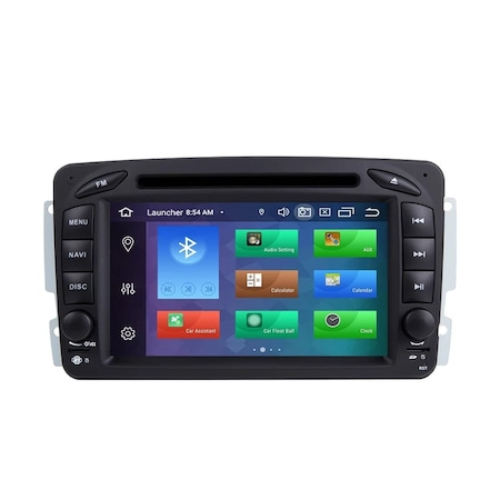 Navigatie NAVI-IT 2GB RAM 32GB ROM dedicata Mercedes Benz CLK W209 W203 W208 W463 Vaneo Viano Vito, Android 9, GPS, FM - Copie 0