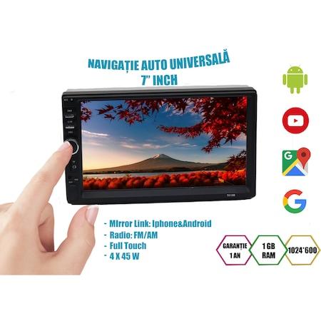 Navigatie NAVI-IT, 1GB RAM 16GB ROM, 7 inch Android 9.1 Vw , Nissan , Opel , Ford Wifi , Bluetooth , Waze, conectori Iso microfon extern, suporti prindere 4