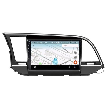 Navigatie NAVI-IT, 4GB RAM 64GB ROM, 4G, IPS, DSP, dedicata Android 9.1, Hyundai Elantra 2016-2018, WiFi, Bluetooth, Magazin Play - Copie - Copie 2