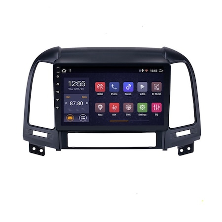 Navigatie NAVI-IT, 2GB RAM 32GB ROM, Android 9.1, Wi-Fi,Bluetooth, Waze, Hyundai Santa Fe, 2005-2012 , 9 Inch - Copie 0