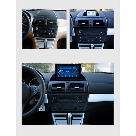 Navigatie NAVI-IT 1GB RAM + 16 GB ROM BMW X3 E83 ( 2004 - 2012 ) , Android , Display 9 inch , Internet , Aplicatii , Waze , Wi Fi , Usb , Bluetooth , Mirrorlink 5