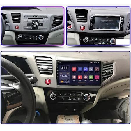 Navigatie NAVI-IT 1GB RAM 16GB ROM, Android Honda Civic ( 2011 - 2015 ) , Display 9 inch, Internet ,Aplicatii , Waze , Wi Fi , Usb , Bluetooth , Mirrorlink 5