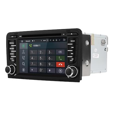 Navigatie NAVI-IT Gps, Android 10 , Audi A3 S3 ( 2002 - 2013 ) , 2GB RAM +16GB ROM, DSP, Internet , Aplicatii , Waze , Wi Fi , Usb , Bluetooth , Mirrorlink [3]