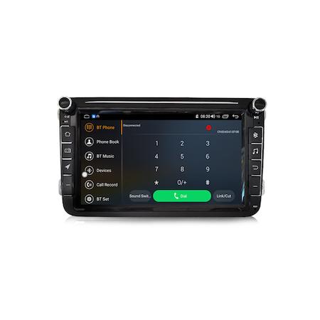 Navigatie NAVI-IT Gps 8 inch VW Golf 5 6 Passat B6 B7 CC Tiguan Touran Jetta Eos Polo Sharan Amarok Caddy , Android , 1 GB RAM + 16 GB ROM , Internet , Aplicatii , Waze , Wi Fi , Usb , Bluetooth , Mir 5
