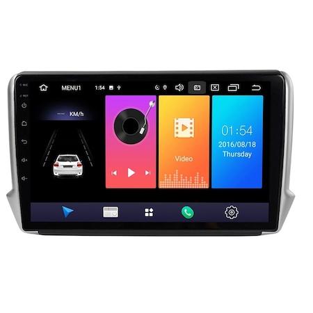 Navigatie NAVI-IT, 1GB RAM 16GB ROM, Peugeot 208 / 2008 ( 2012 - 2020 ) , Android , Display 9 inch, Internet , Aplicatii , Waze , Wi Fi , Usb , Bluetooth , Mirrorlink [4]
