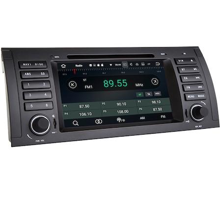 Navigatie NAVI-IT, 4GB RAM 64GB ROM, 4G, IPS, DSP, Gps BMW Seria 5 E39 X5 E53 Seria 7 E38 , Android 10 , Internet ,Aplicatii , Waze , Wi Fi , Usb , Bluetooth , Mirrorlink - Copie - Copie 2