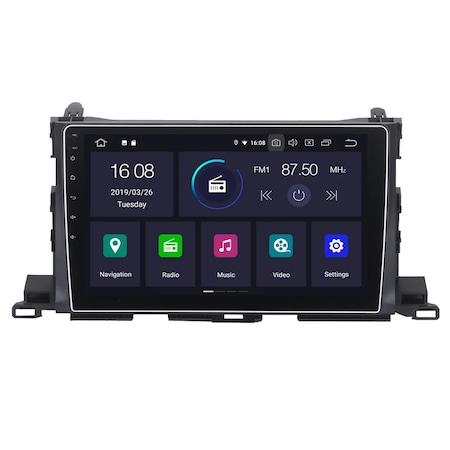 Navigatie NAVI-IT, 1GB RAM 16GB ROM, Toyota Highlander ( 2014 - 2018 ), Carplay , Android , Aplicatii , Usb , Wi Fi , Bluetooth 3