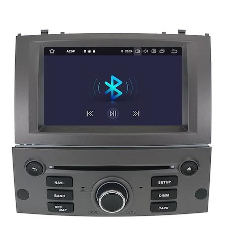 Navigatie NAVI-IT, 2GB RAM 16GB ROM, 7Inch, DSP, IPS, Peugeot 407 ,DSP , Wi-Fi , Android 10 , Bluetooth [3]