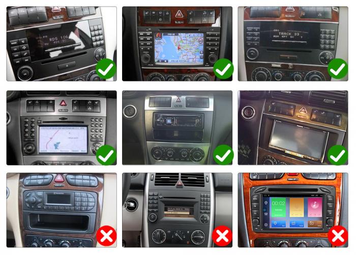 Navigatie NAVI-IT 2 GB RAM + 16 GB ROM Mercedes C Class W203 , CLK W209 , Android 10, Internet, Aplicatii , Waze , Wi Fi , Usb , Bluetooth , Mirrorlink - Copie 9
