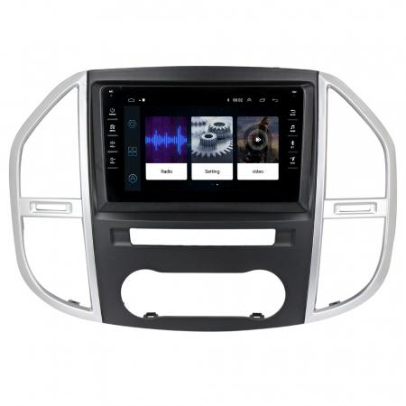 Navigatie NAVI-IT, 1GB RAM 16GB ROM,Mercedes Vito 3, Android 9.1, Display IPS, Functie RDS, Bluetooth, WiFi, Magazin Play, Camera Marsarier [1]