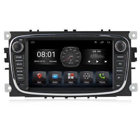 Navigatie NAVI-IT 2 GB RAM + 32 GB ROM Gps Android Ford Mondeo Focus S Max Transit Tourneo, Interne ,Aplicatii , Waze , Wi Fi , Usb , Bluetooth , Mirrorlink - Copie0