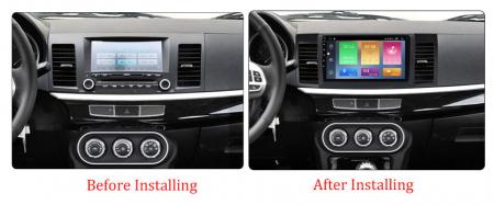 Navigatie Mitsubishi Lancer 2007-2012 , NAVI-IT, 10.1 Inch, 2GB RAM 32GB ROM, Android 9.1, WiFi, Bluetooth, Magazin Play, Camera Marsarier [1]