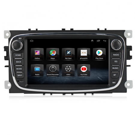 Navigatie NAVI-IT 2 GB RAM + 32 GB ROM Gps Android Ford Mondeo Focus S Max Transit Tourneo, Interne ,Aplicatii , Waze , Wi Fi , Usb , Bluetooth , Mirrorlink - Copie1