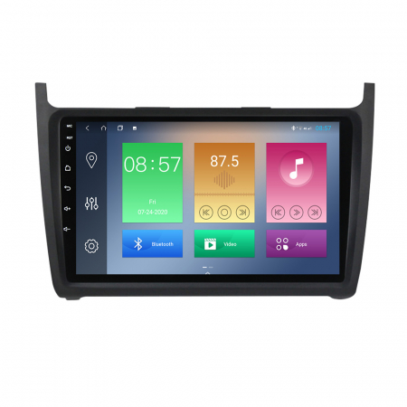 Navigatie Volkswagen Polo 2012-2015, NAVI-IT, 9 Inch, 4GB RAM 64GB ROM, IPS, DSP, RDS, 4G, Android 10 , WiFi, Bluetooth, Magazin Play, Camera Marsarier [0]