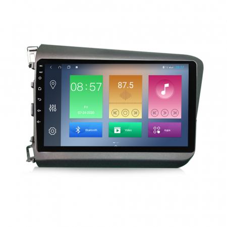 Navigatie Honda Civic 2012-2015, NAVI-IT, 9 Inch, 1GB RAM 16GB ROM, Android 9.1 , WiFi, Bluetooth, Magazin Play, Camera Marsarier [0]