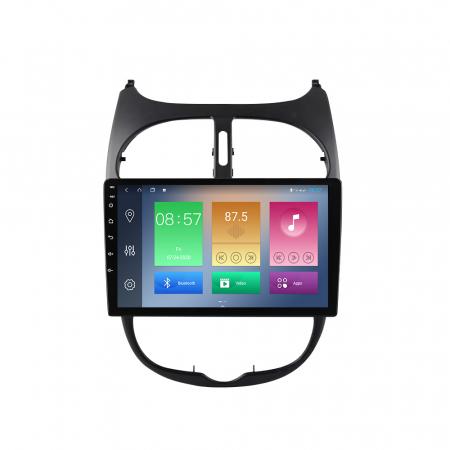 Navigatie Peugeot 206, NAVI-IT, 9 Inch, 2GB RAM 32GB ROM, Android 9.1, WiFi, Bluetooth, Magazin Play, Camera Marsarier [0]