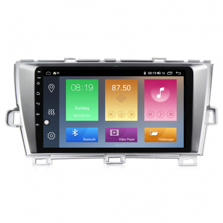 Navigatie Toyota Prius, NAVI-IT, 9 Inch, 2GB RAM 32GB ROM, Android 9,1, WiFi, Bluetooth, Magazin Play, Camera Marsarier [0]