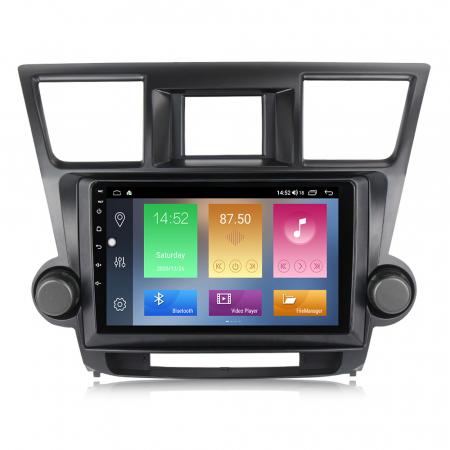 Navigatie Toyota HIghlander 2 (2007-2014), NAVI-IT, 9 Inch, 4GB RAM 64GB ROM, IPS, DSP, RDS, 4G, Android 10 , WiFi, Bluetooth, Magazin Play, Camera Marsarier [0]