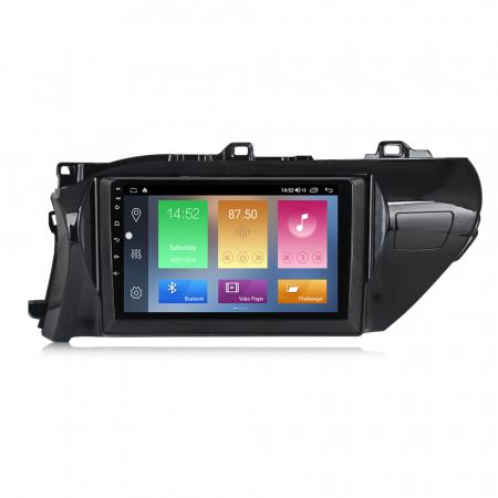 Navigatie Toyota Hilux 2016, NAVI-IT, 10.2 Inch, 2GB RAM 32GB ROM, Android 9.1 , WiFi, Bluetooth, Magazin Play, Camera Marsarier [0]