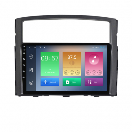 Navigatie Mitsubishi Pajero 2006-2012, NAVI-IT, 9 Inch, 1GB RAM 16GB ROM, Android 9.1, WiFi, Bluetooth, Magazin Play, Camera Marsarier [6]