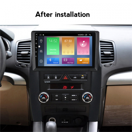 Navigatie Kia Sorento 2 2009-2012, NAVI-IT, 9 Inch, 1GB RAM 16GB ROM, Android 9.1, WiFi, Bluetooth, Magazin Play, Camera Marsarier [4]