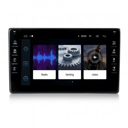 Navigatie NAVI-IT, 1GB RAM 16GB ROM,Audi A4, Android 9.1, Display IPS, Functie RDS, Bluetooth, WiFi, Magazin Play, Camera Marsarier [1]
