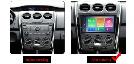 Navigatie Mazda CX7 2008-2015, NAVI-IT, 9 Inch, 4GB RAM 64GB ROM, IPS, DSP, RDS, 4G, Android 10 , WiFi, Bluetooth, Magazin Play, Camera Marsarie [1]