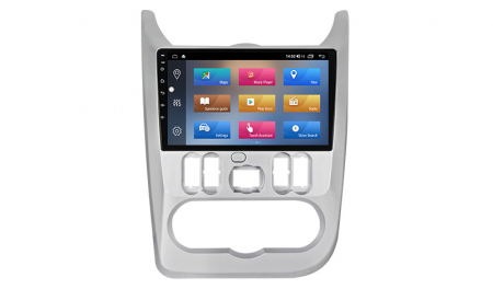Navigatie NAVI-IT  4 GB RAM + 64 GB ROM Dacia Logan ( 2009 - 2016 ) , Android , Display 9 inch , Internet ,Aplicatii , Waze , Wi Fi , Usb , Bluetooth , Mirrorlink - Copie - Copie1