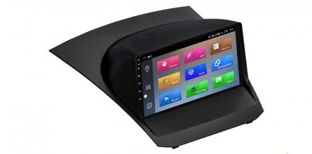 """Navigatie NAVI-IT 4 GB RAM + 64 GB ROM , Gps Ford Fiesta ( 2009 - 2017 ) , Android, Display 9 """" , Internet, Aplicatii , Waze , Wi Fi , Usb , Bluetooth , Mirrorlink2"""