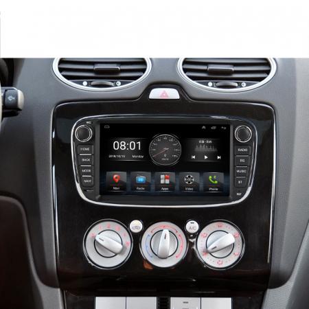 Navigatie NAVI-IT 4 GB RAM + 64 GB ROM Gps Android Ford Mondeo Focus S Max Transit Tourneo, Interne ,Aplicatii , Waze , Wi Fi , Usb , Bluetooth , Mirrorlink4
