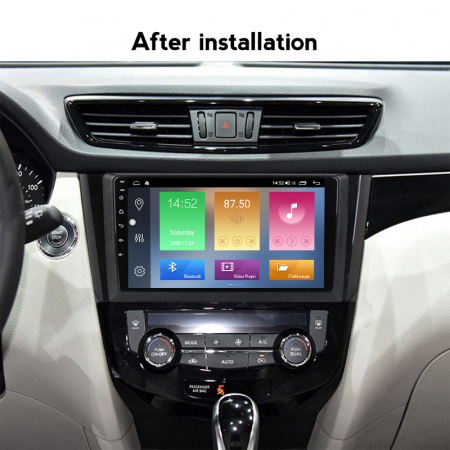 Navigatie Nissan Qashqai, X-Trail 2013-2016, 10.25 Inch, 1GB RAM 16GB ROM, Android 9.1, WiFi, Bluetooth, Magazin Play, Camera Marsarier [4]