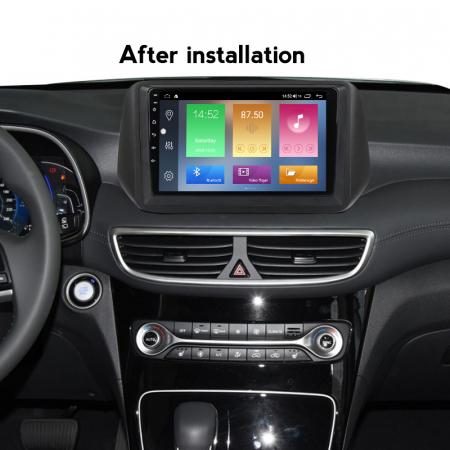 Navigatie Hyundai Tucson 2018-2020, NAVI-IT, 10 Inch, 2GB RAM 32GB ROM, Android 9.1, WiFi, Bluetooth, Magazin Play, Camera Marsarier [5]