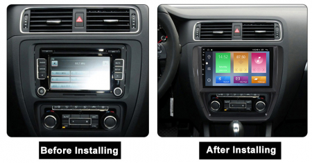 Navigatie Volkswagen Sagitar, Jetta, NAVI-IT, 9 Inch, 4GB RAM 64GB ROM, IPS, DSP, RDS, 4G, Android 10 , WiFi, Bluetooth, Magazin Play, Camera Marsarier [1]