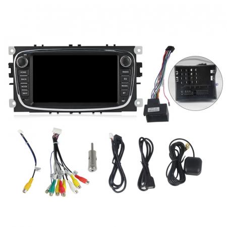 Navigatie NAVI-IT 4 GB RAM + 64 GB ROM Gps Android Ford Mondeo Focus S Max Transit Tourneo, Interne ,Aplicatii , Waze , Wi Fi , Usb , Bluetooth , Mirrorlink5