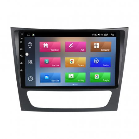 Navigatie NAVI-IT, Mercedes W211, 9 Inch, 1GB RAM 16 GB ROM, Android 9,1, WiFi, Bluetooth, Magazin Play, Camera Marsarier [1]