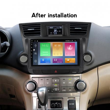Navigatie Toyota Highlander 2 (2007-2014), NAVI-IT, 10.1 Inch, 2GB RAM 32GB ROM, Android 9,1, WiFi, Bluetooth, Magazin Play, Camera Marsarier [5]