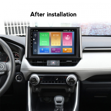 Navigatie Toyota RAV4 2019, NAVI-IT, 10.2 Inch, 4GB RAM 64GB ROM, IPS, DSP, RDS, 4G, Android 10 , WiFi, Bluetooth, Magazin Play, Camera Marsarier [4]