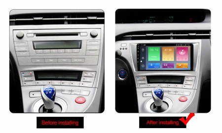 Navigatie Toyota Prius, NAVI-IT, 9 Inch, 1GB RAM 16 GB ROM, Android 9,1, WiFi, Bluetooth, Magazin Play, Camera Marsarier [1]