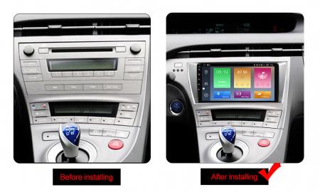 Navigatie Toyota Prius, NAVI-IT, 9 Inch, 2GB RAM 32GB ROM, Android 9,1, WiFi, Bluetooth, Magazin Play, Camera Marsarier [1]