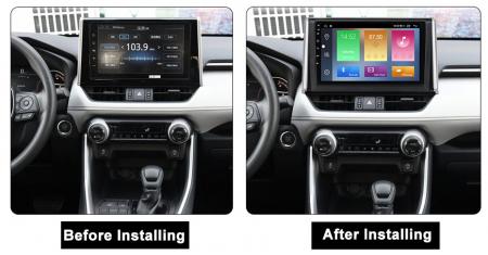 Navigatie Toyota RAV4 2019, NAVI-IT, 10.2 Inch, 4GB RAM 64GB ROM, IPS, DSP, RDS, 4G, Android 10 , WiFi, Bluetooth, Magazin Play, Camera Marsarier [1]