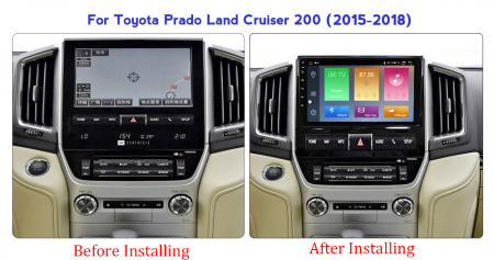 Navigatie Toyota Land Cruiser 2016, NAVI-IT, 9 Inch, 2GB RAM 32GB ROM, Android 9.1 , WiFi, Bluetooth, Magazin Play, Camera Marsarier [1]