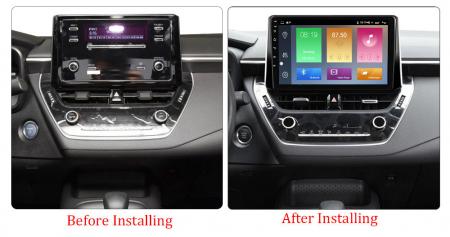 Navigatie Toyota Corolla, Auris (2018-2019), NAVI-IT, 10.2 Inch, 2GB RAM 32GB ROM, Android 9.1 , WiFi, Bluetooth, Magazin Play, Camera Marsarier [1]
